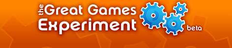The Great Games Experiment Logo