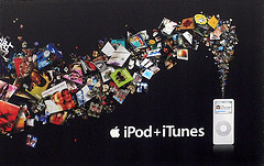 1000 songs Apple iPod + iTunes ad