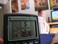 TI 83 Tetris game