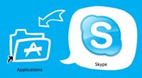install skype icon