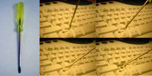 keyboard opening tool