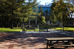 Carleton University courtyard
