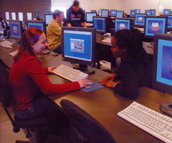 University of Guelph computer lab