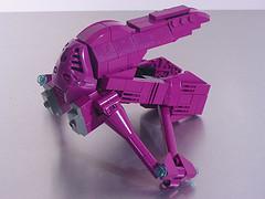 detailed lego banshee model