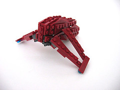 lower detail lego bunshee model