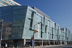 Computing centre building at Ryerson University