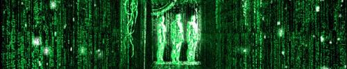 manipulating data, like in The Matrix