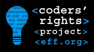 EFF coder's rights logo