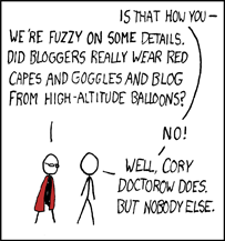 Cory Doctorow on XKCD