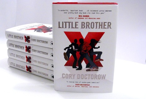 Little Brother Cory Doctorow Books